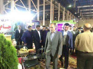 بازدید آقای تقی زاده خامسی شهردار مشهد از نمایشگاه خدمات شهری و حمل و نقل مشهد