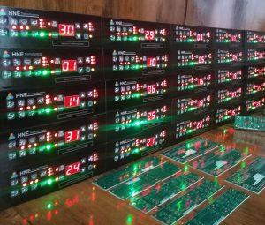 کلید کولر،بخاری و سیستم تهویه اسکانیا، مارال - محصول تولیدی شرکت هوپاد نوین