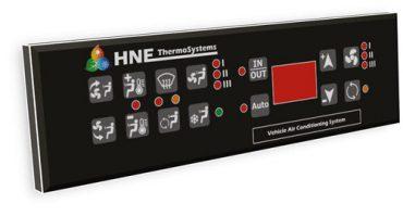 کلید کولر،بخاری و سیستم تهویه اسکانیا، مارال- کلید دوبل کابین و راننده - محصول تولیدی شرکت هوپاد نوین